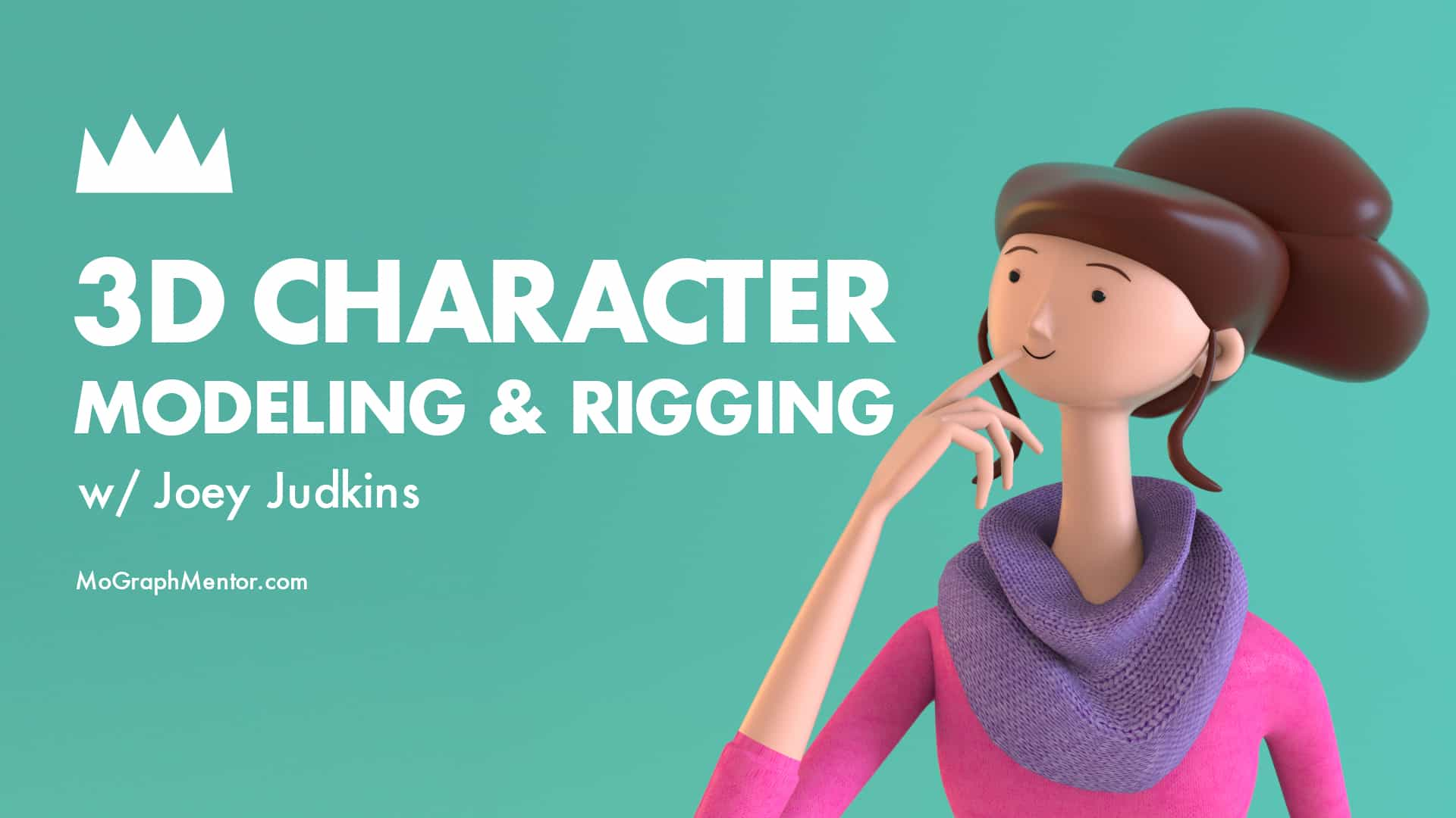 3d Character Modeling Rigging With Joey Judkins Mograph Mentor